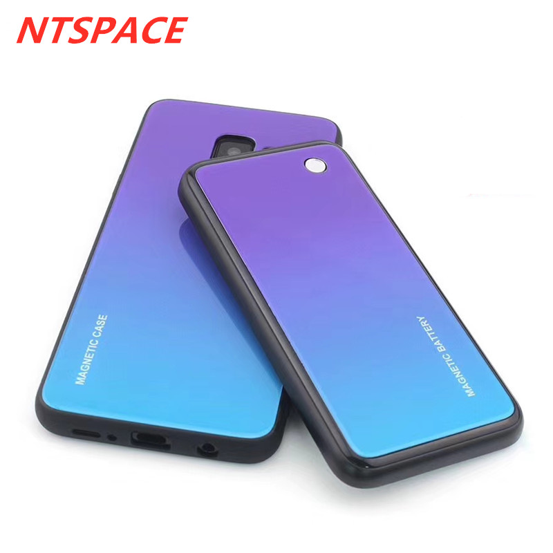 New Fashion Wireless Magnetic Battery Charging Case For Samsung Galaxy S9 Plus Ultra thin Power Case