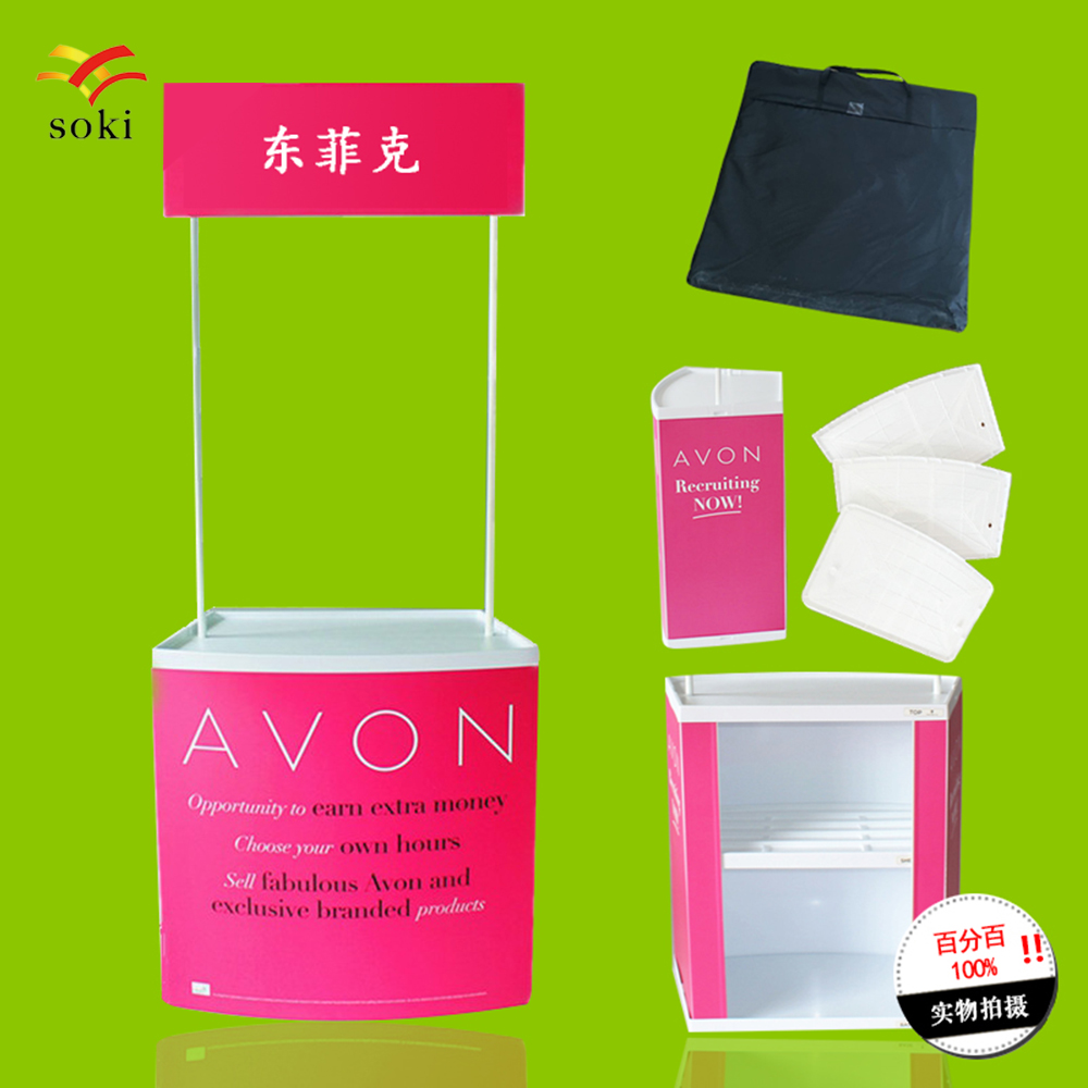 Table Exhibition Display Trade Show Promotion Counter Stand Counter Strong  For Supermarket Activity Store Demo Counter