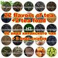 [HT!][Taste]24 flavors tea guan yin+shui xian+da hong pao+yunnan puer+black tea+dancong+white tea+yellow tea+tea food