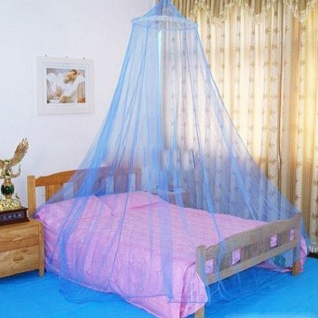 Hung Dome Mosquito Net Princess Round Elegant Insect Mesh Mosquito ...