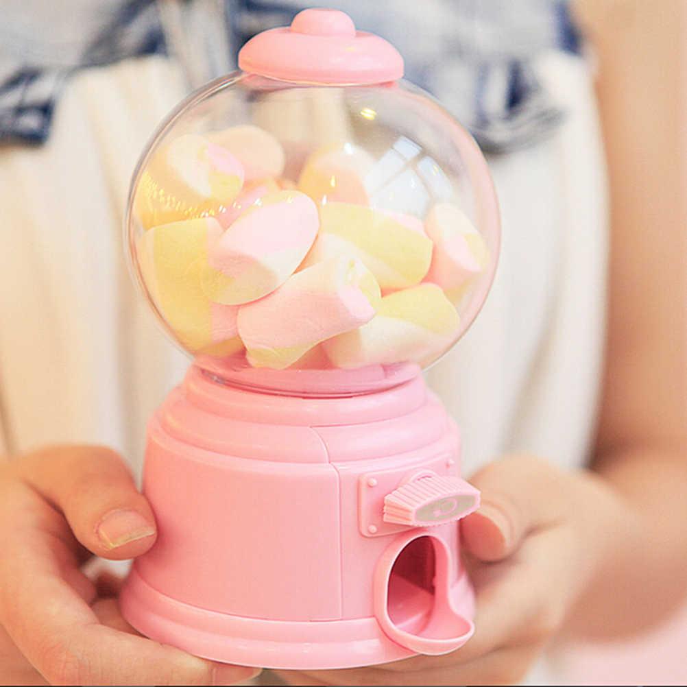 חדש מיני טוויסט סוכריות מכונת Dispenser מטבע חיסכון חזירון חמוד בנק כסף חפצים מקרי תיבת מתנות לילדים צעצוע בית קישוטי