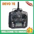 Nueva Radio Walkera DEVO 7E 2.4 GHZ Transmisor Nueva Versión 7 ch Radio Control
