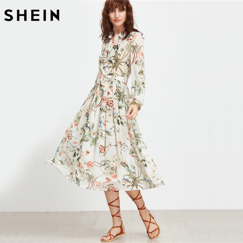 Kleid midi blumen