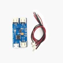 Mini Güneş Lipo Şarj Kurulu CN3065 Lityum Pil Şarj Çip DIY Açık Şarj devre kartı modülü ile 3 Bağlantı Telleri