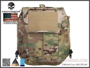 Image 3 - Emersongear Tactical Pack Zip on 패널 Multicam Plate Carrier Zip 백 가방 CPC NCPC JPC 2.0 AVS Vest 용 수화 캐리어