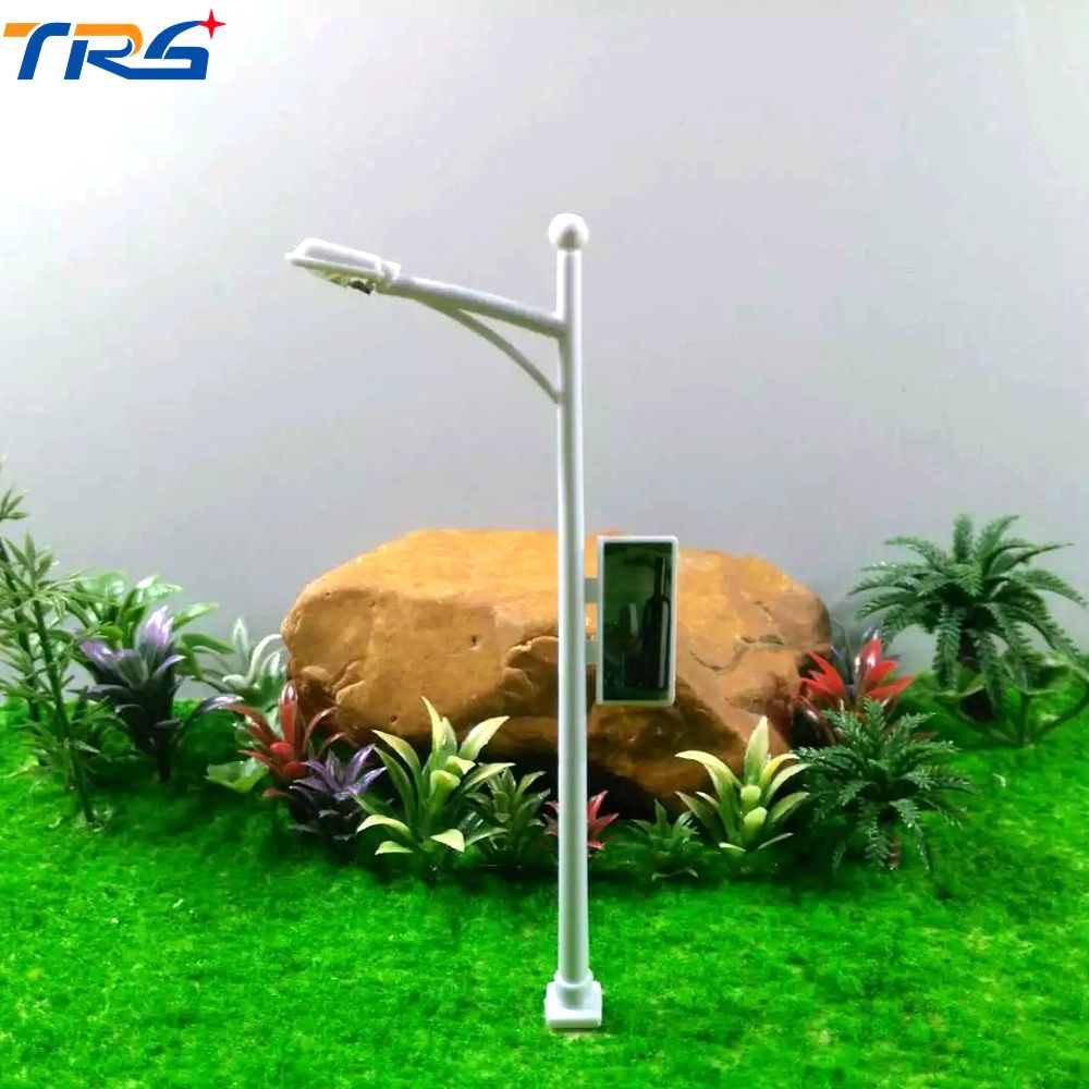 Teraysun 100pcs lot HO Scale 1:100 Lamp Post Street LED Lights Model Railway Train Layou ...
