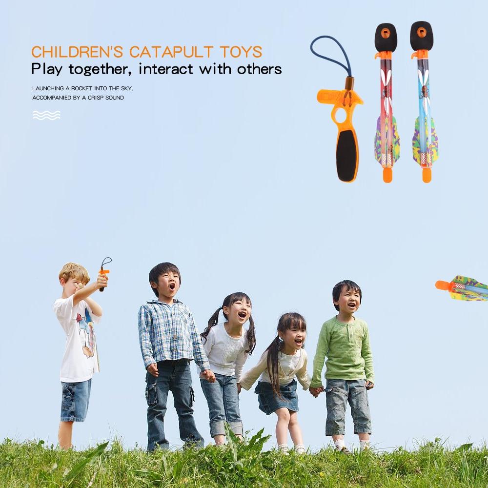 2 Stücke Schreien Pfeife Action Super Sky Rakete Werfer Besten Outdoor Spielzeug Für Kinder Spiele Im Freien Sparen Sie 50-70%