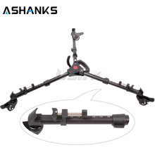 Yunteng Photography Heavy Duty Tripod Dolly with Wheels and Adjustable Leg Mounts for Canon Nikon Sony DSLR Camera Photo Video
