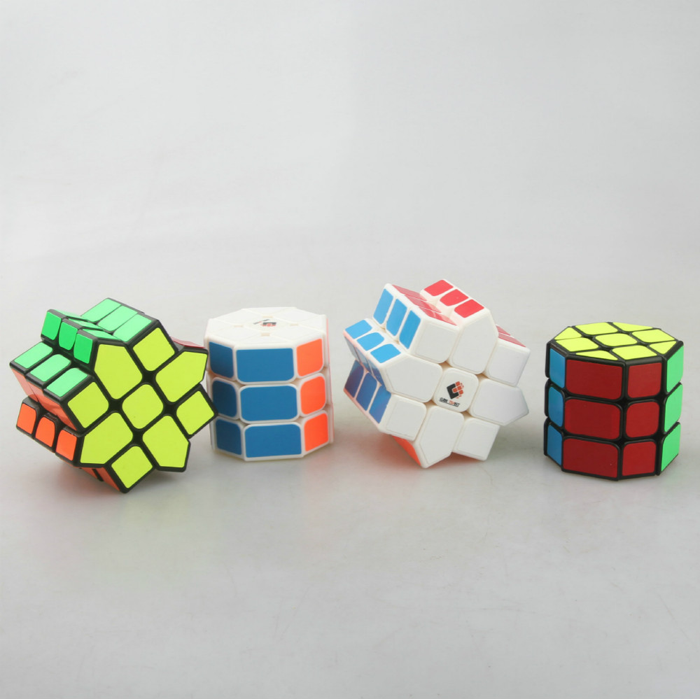CubeTwist Anise Cylinder 3x3x3 Magic Cube Puzzle Cube Educational Toys for Kids Children