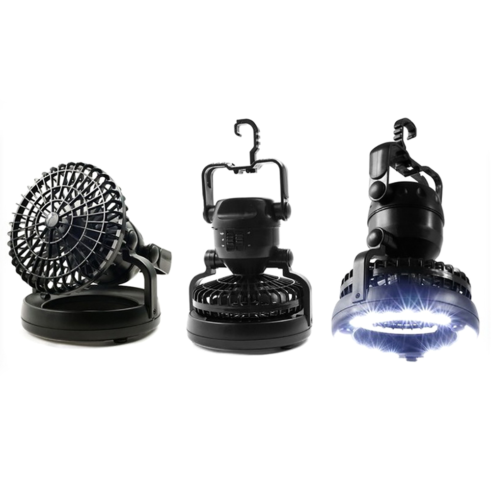 Portable LED camping lantern fan 1