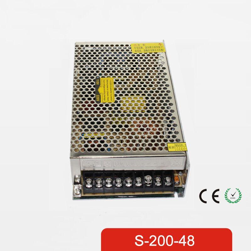 200W 48V 4.2A Single Output Switching power supply for LED Strip light AC to DC 1200w 12v 100a adjustable 220v input single output switching power supply for led strip light ac to dc