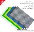 2017 venta caliente 16*32 puntos pequeños bloques de bloques de construcción diy placa base placa base 1 unids compatible con otro bloques