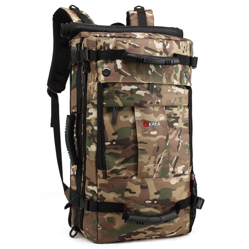 Polochon noir Sac Army Sacs De Voyage Hommes Qualité camouflage Épaule Dos Mode Multifonction Multi usage À Green Haute wqpfO6aaW