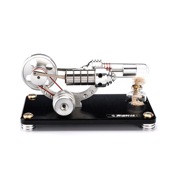 Stirling Engines High Tech External-combustion Engine Mini Motor Power Generator Hot Air Hand Engine Stirling Machine Toy Set
