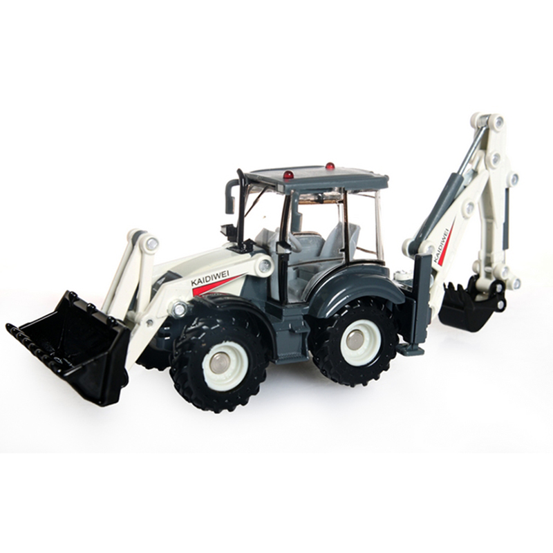 KAIDIWEI-Alloy-Excavator-150-Two-way-Forklift-Bulldozer-Back-Hoe-Loader-shovel-Diecast-Model-For-Kid-Gift-Toys-4