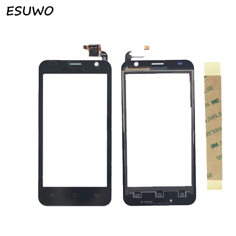 ESUWO New Phone Touch Screen For Prestigio PAP3450 PAP 3450 Touchscreen Digitizer Front Glass Lens Replacement