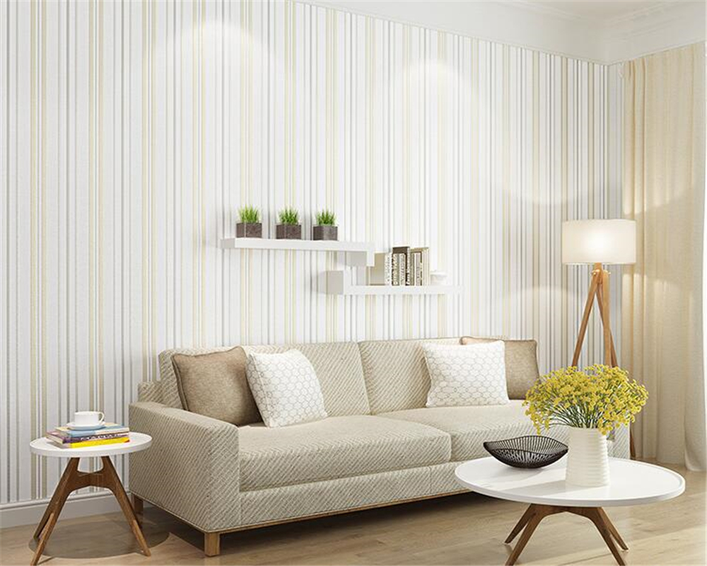 beibehang simple modern stripes three-dimensional precision living room bedroom wall paper nonwoven TV background 3d wallpaper beibehang precision pressure 3d three dimensional non woven wallpaper sofa wall paper wallpaper living room bedroom full shop