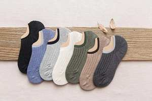 Summer Socks Cotton Men's Fashion 7-Colors New Spring for 70-Pairs A056 Per-Pack