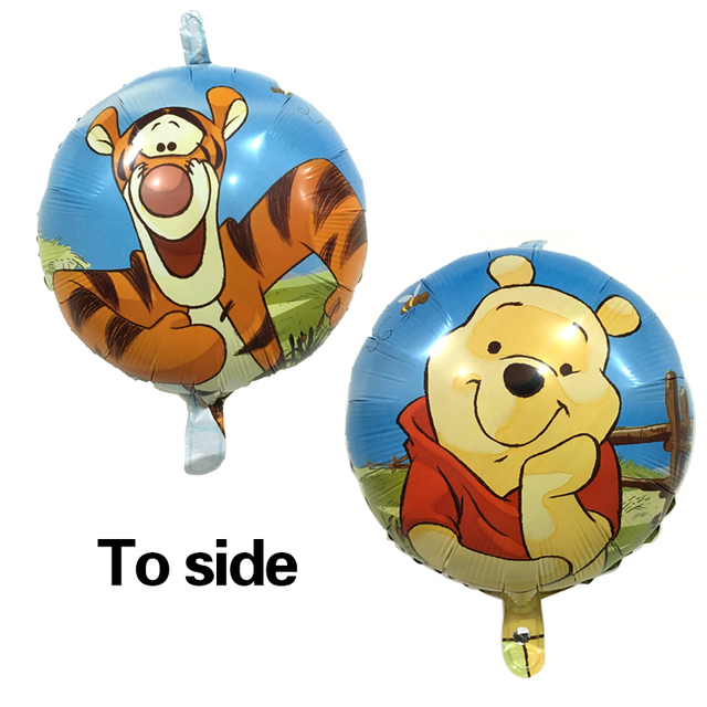 New 18 Inch Cartoon Winnie The Pooh Balloons Aluminum Foil Balloon