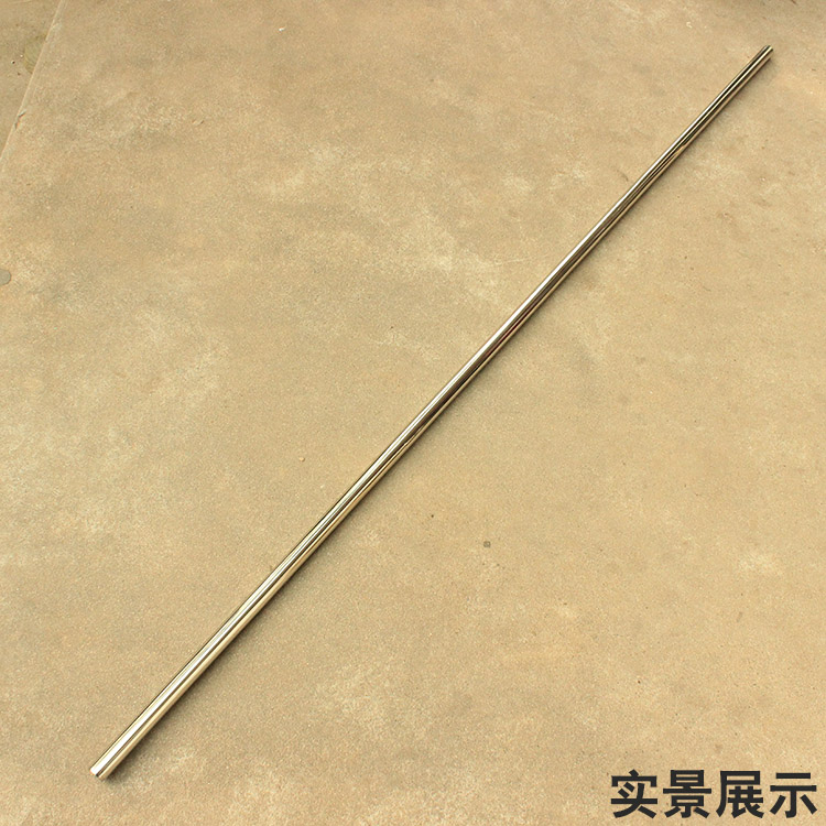 Stainless Three Sectional Martial Arts Performance Staff 1