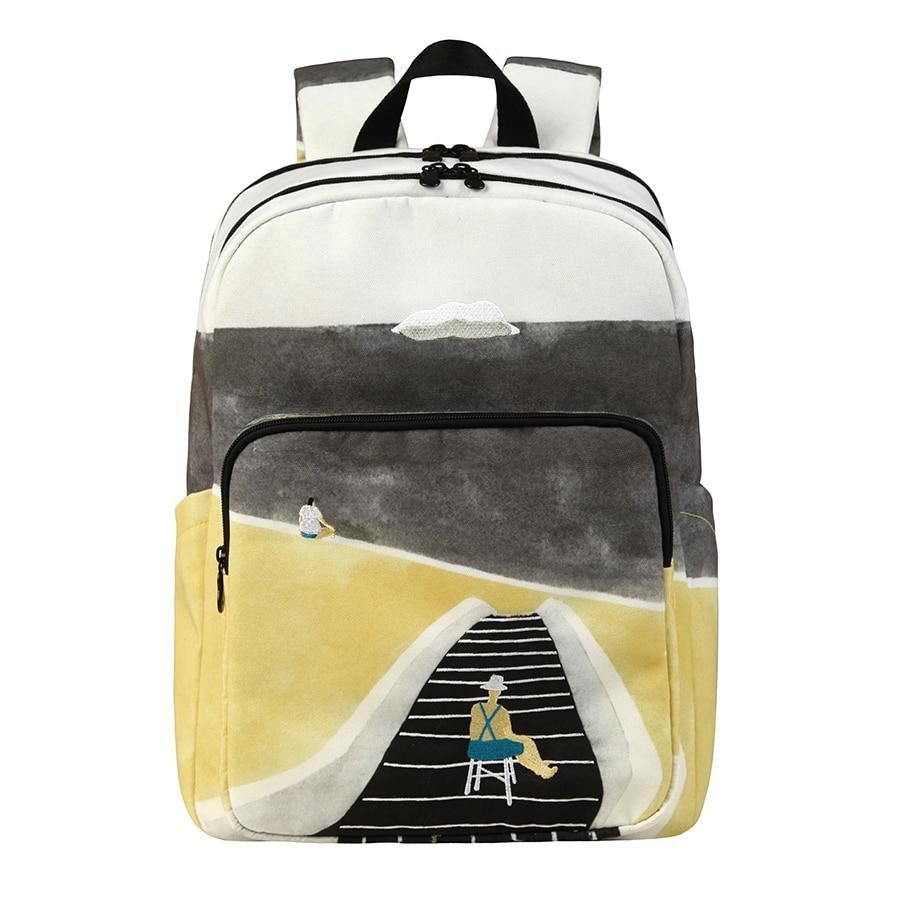Оригинальные рюкзаки YIZISTORE, оригинальные школьные сумки для подростков и путешествий по природе, 3 (магазин FUN KIK), 2019