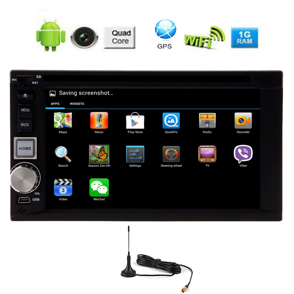 6 2 android 5 1 car dvd gps radio capacitive 1080p auto mirror link 2din gps cd digital tv bt. Black Bedroom Furniture Sets. Home Design Ideas