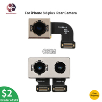 For iPhone 8 8G 8 plus Original Tested Back Rear Camera Flex Cable Ribbon Module Lens Flash Repair Parts Replacement Big Camera