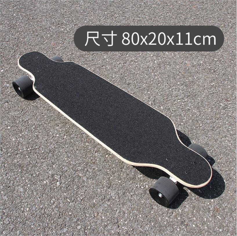 Image 5 - 80*20*11cm Professional Dancing Longboard Deck Freestyle Street Skateboard Canadian Maple Longboard Cruiser 4 Wheels Skate-in Skate Board from Sports & Entertainment