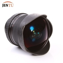 JINTU Súper 8mm F/3.5 Ultra Gran Angular de Lente de ojo de Pez para Nikon Cámaras DSLR D700 D90 D600 D7100 D7000 D5200 D3100 D3200 D80 D3S