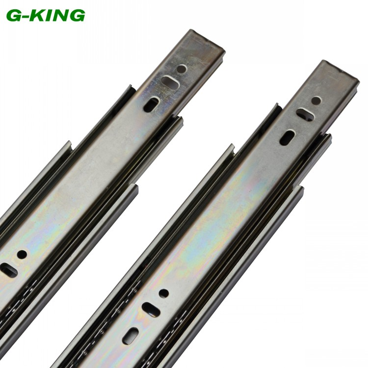 The Concept Of Qi Three Ball Furniture Drawer Slide Guide Rail 45mm File Cabinet  Rail Track