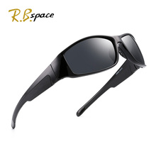 RBspace Brand classic design Polarized Sunglasses Mens driving,fishing framed driving glasses UV400 RB803