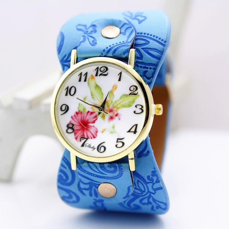 shsby Νέα Άφιξη Τυπωμένο δέρμα Βραχιόλι - Γυναικεία ρολόγια - Φωτογραφία 6
