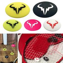 Silicone Durable Tennis Racket Shock Absorber to Reduce Racquet Vibration Dampeners High Quality Cartoon Bull Animal Anti-Vibrat 1pcs silicone tennis racket shock absorber to reduce tennis racquet vibration dampeners reduce ball impact amplitude