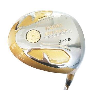 Nuovo club di Golf S-05 4 Star Oro driver di Golf 9.5 or10.5 loft golf Grafite albero R o S flex HONMA driver Cooyute Trasporto libero