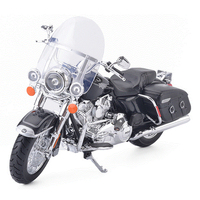 Maisto 1:12 Road King Classic Model Motorcycle Motorbike Toys Alloy Miniature Motor Car Toy For Kids