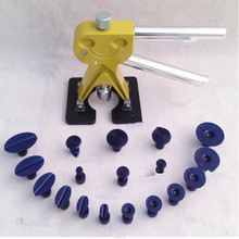 Precio de fábrica más reciente 19 unids/set diseño del coche de oro sin pintura de reparación de herramientas / Auto Dent Lifter eliminación de carrocerías de automóviles herramientas pdr