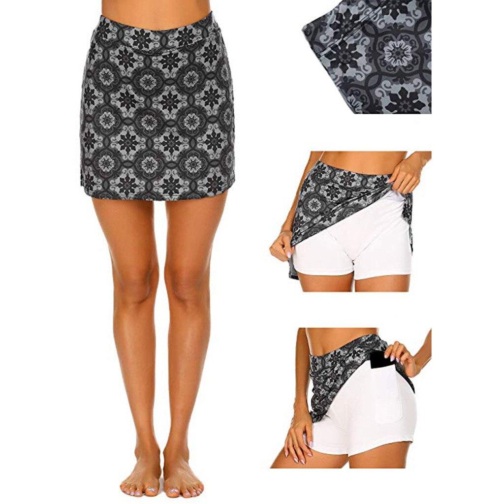 Women's Skirt Skirts faldas jupe femme shein saia Women's Active Skorts  Performance Skirt Running Tennis Golf Workout Sports #50|Skirts| -  AliExpress