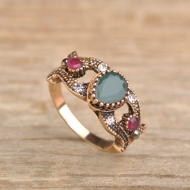 jewelry steel accessories stainless gold rings in women acrylic ring s woman from rose wedding female item charm girl silver