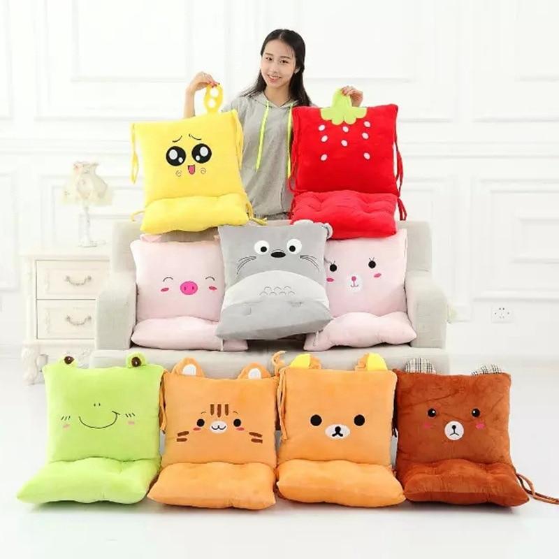 Plush Toys Stuffed Animal Pillow Cushion Totoro Bear Frog