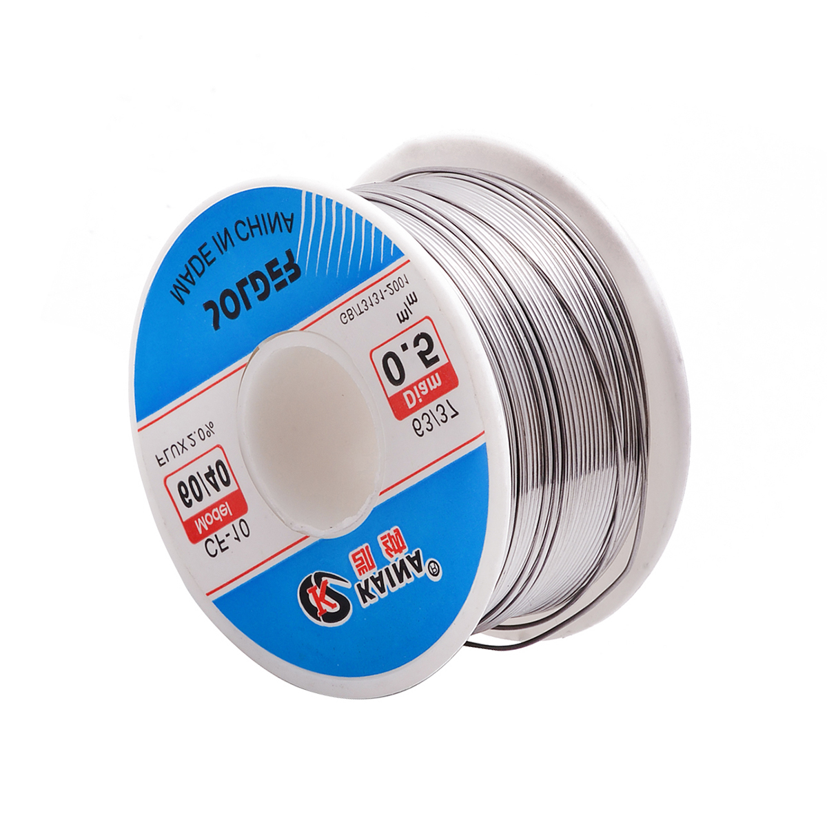 Good Solderability <font><b>Solder</b></font> Wire Sn <font><b>60</b></font>/Pb <font><b>40</b></font> 0.5mm 100g Mayitr Rosin Core Tin Lead Roll Soldering Welding Flux 2.0% Iron Wire Reel image