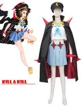Envío Libre de Muertes de la Mata Mako Mankanshoku Dos Estrellas Goku Uniforme de Cosplay del Anime