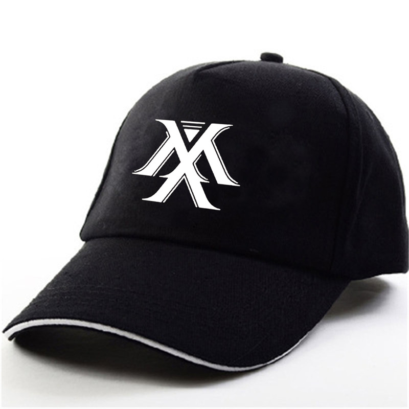 YOUPOP KPOP Monsta X New Album THE CODE Dramarama NEWTON SHINE FOREVER Black Baseball Cap Hip-hop Cap Men Women Hats майка классическая printio gta 5 dog