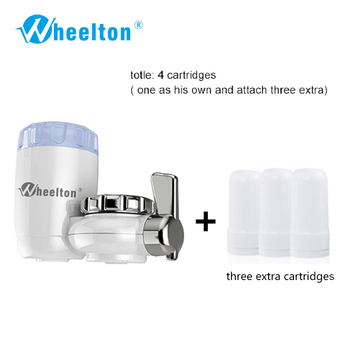 8 layers purification ceramic filter for household water filter purifier kitchen faucet Attach extra 3 cartridges freeshipping
