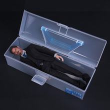 купить Hot Toy 1/6 Scale Figure Carrying Case Storage Box Model for 12 Action Figure Accessory дешево
