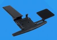 LK01 Ergonomic Sliding Tilting XL Size Wrist Rest Keyboard Holder With Mouse Pads For Computer Desk