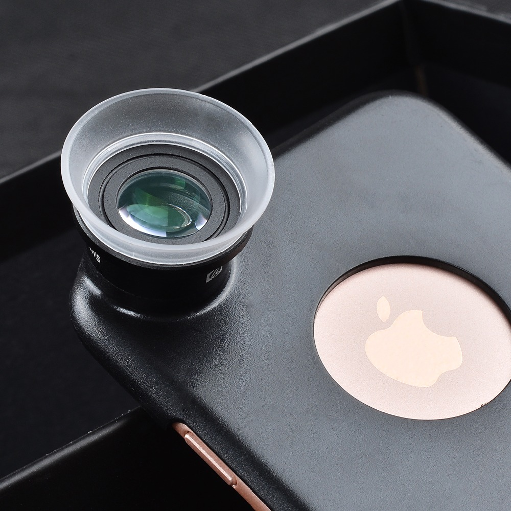 Apexel mobile phone lens Super Macro 12X 24X camera Lenses for iPhone x 7 8 PLUS Xiaomi Samsung note8 s8 S7 edge lens with clip