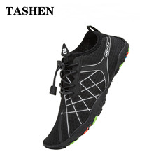 Men Upstream Aqua Shoes Summer Quick-Drying Beach Sandel Swimming Shoes Non-Slip Seaside Swimming Sneaker Breathable Water Shoes стоимость