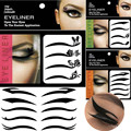 3Sheet/lot Japan Art Waterproof Smokey Eyeliner Eyeshadow Sticker Non-stick Cat Eye Tape Temporary Eyeshadow Halloween Gift