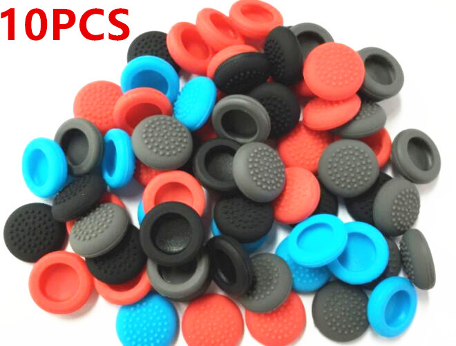 10pcs For Nintend Switch Thumb Stick Cover Caps Protector Guard Joystick Grips For Nintendo Switch NS Joy-Con Controller
