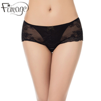 Fimage Women S Panties Women High Quality Breathable Sexy Lace Mid Rise Briefs Femme Solid